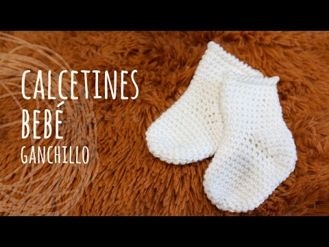 Tutorial Calcetines Fáciles Bebé Ganchillo Crochet Youtube