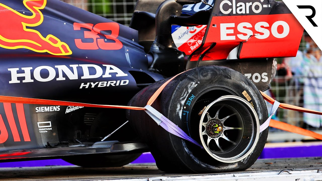 The controversial reason for F1's huge tyre failures - and what's being changed