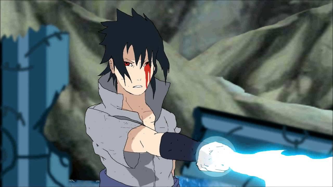 Sasuke Chidori blade animation - YouTube