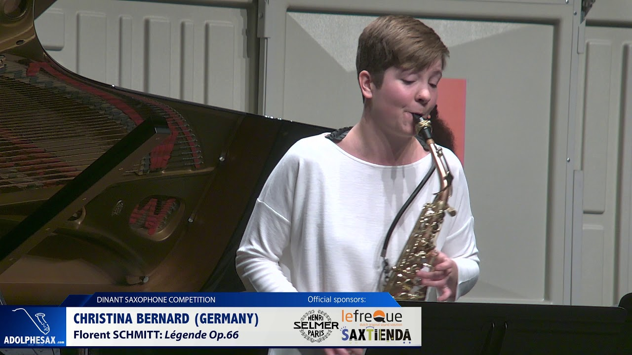 Christina Bernard Germany   Legende Op 66 by Florent Schmitt