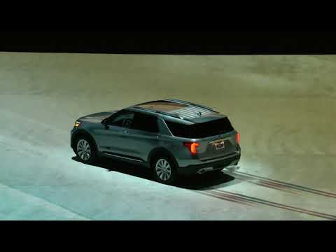 2020 Ford Explorer Reveal at Ford Field, Detroit