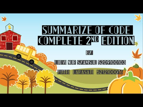 "Summary Of ""Code Complete 2nd Edition - Steven C. McConnell"""