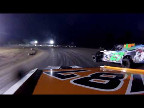 Gavin Hunyady A-Main Silver Bullet Speedway IMCA Modified 6-23-18