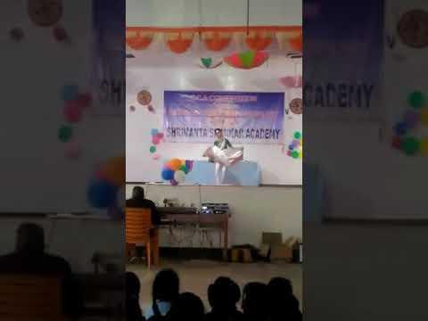Khyati Mazumdar In Shrimanta Shankar Academy School's Cca Solo Dance Competition Performance