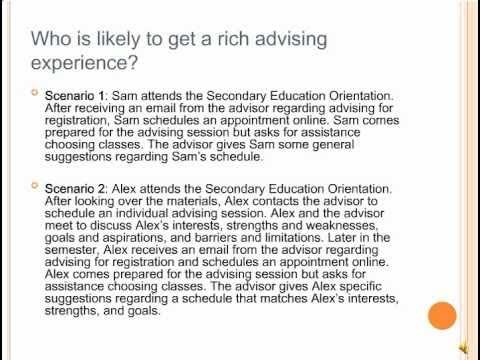 Secondary Education Orientation (3 of 3)
