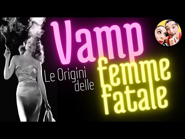 VAMPS ! Le Femme Fatales del tuo BISNONNO * THEDA BARA *