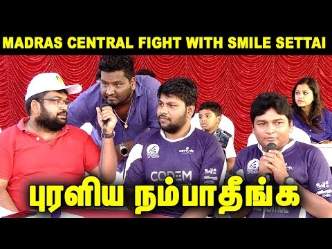 Madras Central Gopi & Sudhakar Fight With Smile Settai | True ? : Prasanth Frank Discussion In YCL