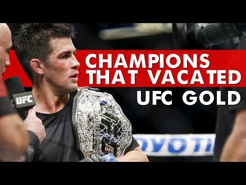 10 MMA Champions Who Vacated A UFC Belt