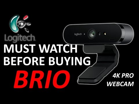 WATCH BEFORE BUYING LOGITECH BRIO 4K WEBCAM