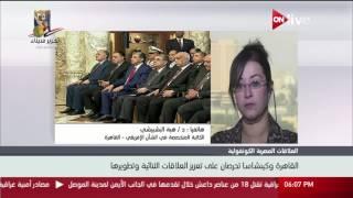 د. هبة البشبيشي: في الفترة القادمة سيكون هناك تعاون مصري أفريقي على مستويات اقتصادية وسياسية