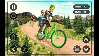 BMX Cycle Race - Mountain Bicycle Stunt Rider    Sports Gameplay Walkthrough By Android Gaming