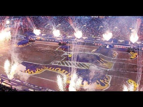 Monster Jam Las Vegas >> Monster Jam World Finals XV - AS BIG AS IT GETS in Las Vegas - March 20-22, 2014 - YouTube