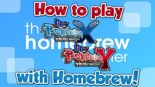 how to install pokemon neo x y through 3ds homebrew maybe outdated