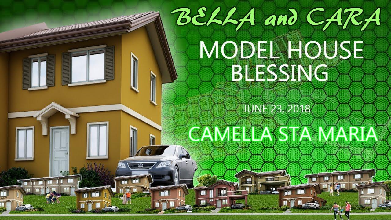 Camella Sta Maria Model House Blessing Cara And Bella