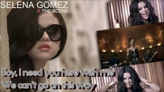 "[HD] Selena Gomez - ""ROUND AND ROUND"" - Official Karaoke/Instrumental w/ Vocals"