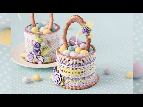 How to Make 3-D Easter Basket Cookies