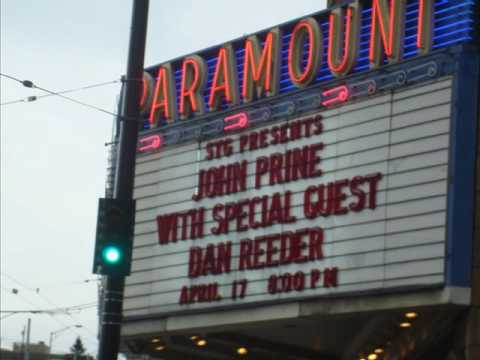 "John Prine - ""Jesus, The Missing Years"" Live Seattle 4/17/2010"