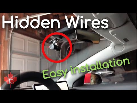 Easy Tesla Model 3 Dashcam Installation With Hidden Wires (no Electrical Work Required)