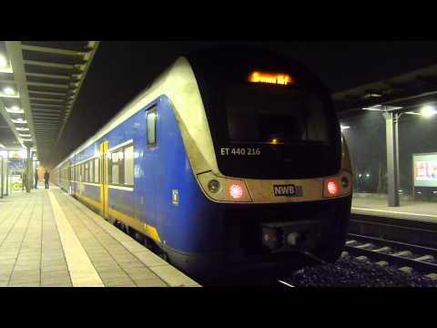 NWB Regio S-Bahn macht Kopf in Delmenhorst