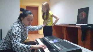 Урок вокала. Анастасия Багинская. Как брать высокие ноты