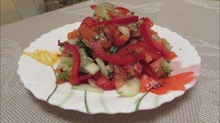 Салат с сельдереем ✧ Постное блюдо