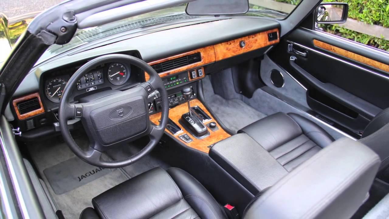 Beautiful 1991 Jaguar XJS Convertible. 2,477 ACTUAL MILES!