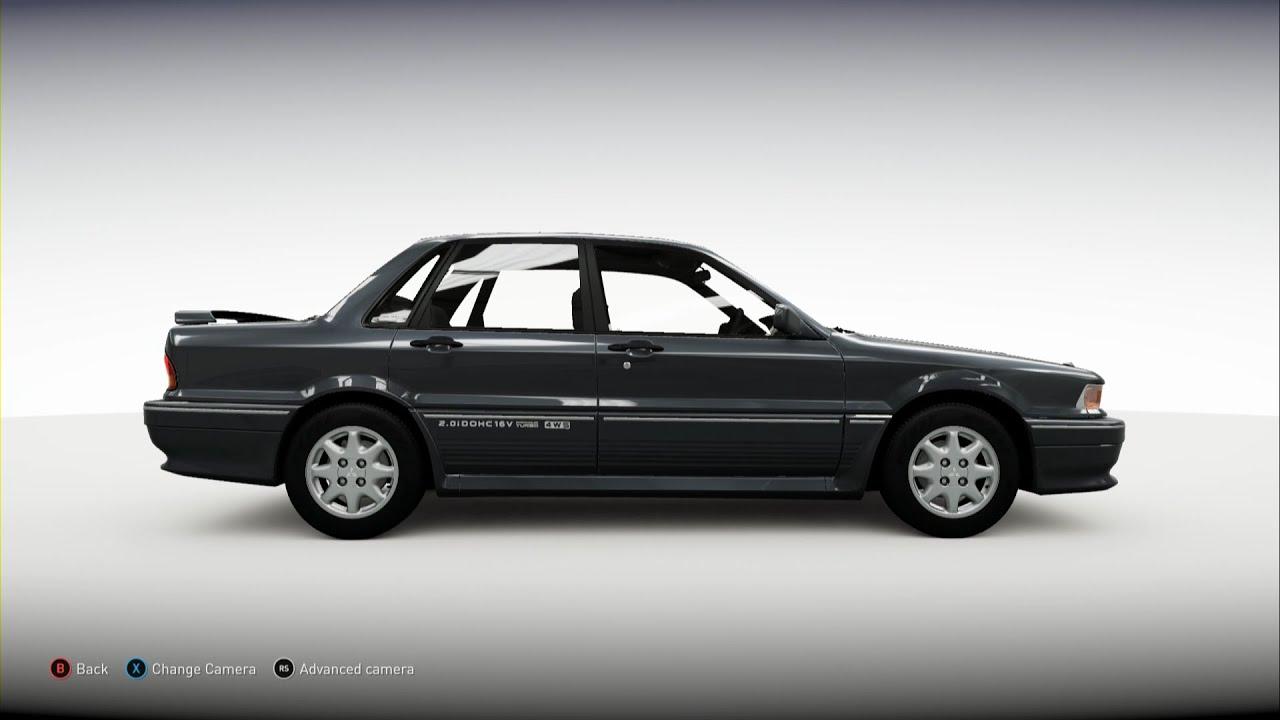 Forza Horizon 2 1992 Mitsubishi Galant Vr 4 Youtube