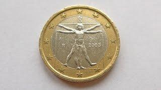 1 Euro Coin :: Italy 2003