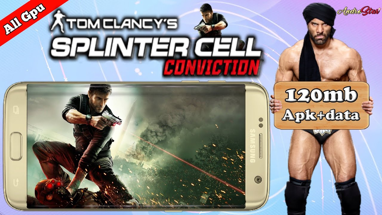 Splinter cell conviction highly compress free download on android.