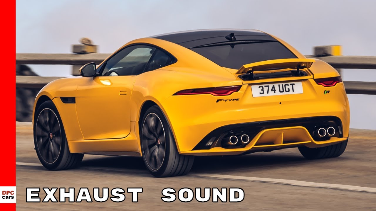 2021 Jaguar F Type R Performance And Exhaust Sound Youtube