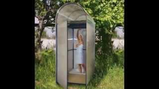 видео душ для дачи с подогревом