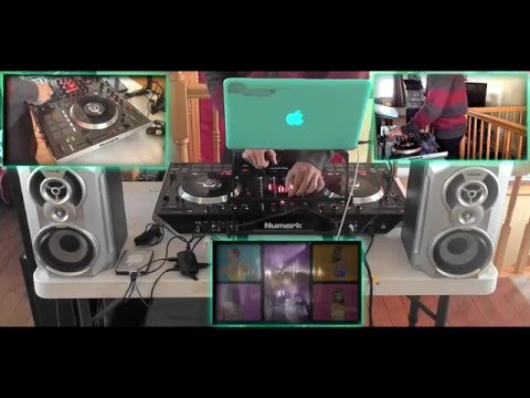 Dj Shaw-Key - Live - Blood Beats Vol 1 Hip-Hop/RnB Video Mix 12-01-2015 (Numark ns7 II)
