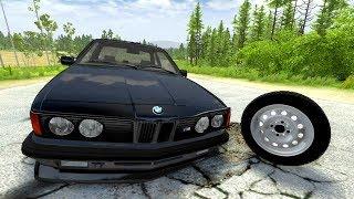 РУССКИЕ ДОРОГИ УБИЙЦЫ! ЛЁХА ПОТЕРЯЛ BMW! | BeamNG.drive