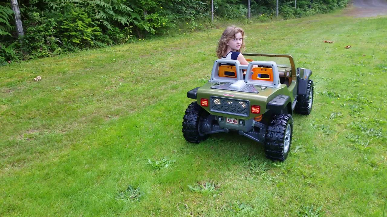 Ride Now Motors >> Modified Power Wheels, Jeep Hurricane, kids ride-on toy ...