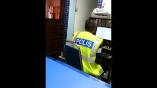 polis bising