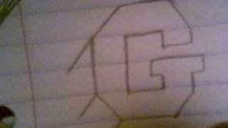 HOW TO SHADE 3-D LETTERS (G)