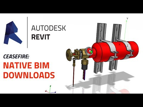 CeaseFire Offers Autodesk REVIT 3D BIM Downloads at