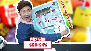 THỬ LÀM MÁY BÁN SQUISHY - My Squishy Vending Machine!