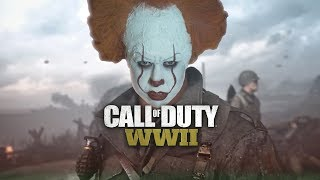 Pennywise Live Streams Call Of Duty WW2