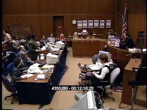 OJ Simpson Trial - January 30th, 1995 - Part 1