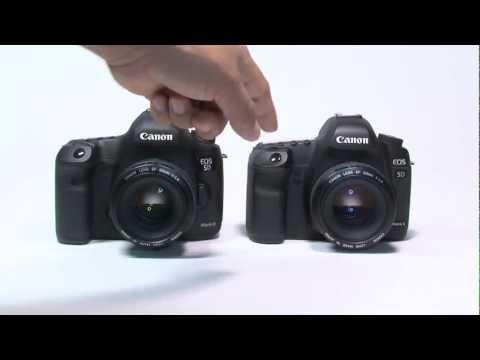 Canon 5D Mark III vs Canon 5D Mark II 셔터 소리 비교 (