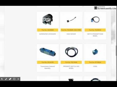 JCB PARTS (electrical)