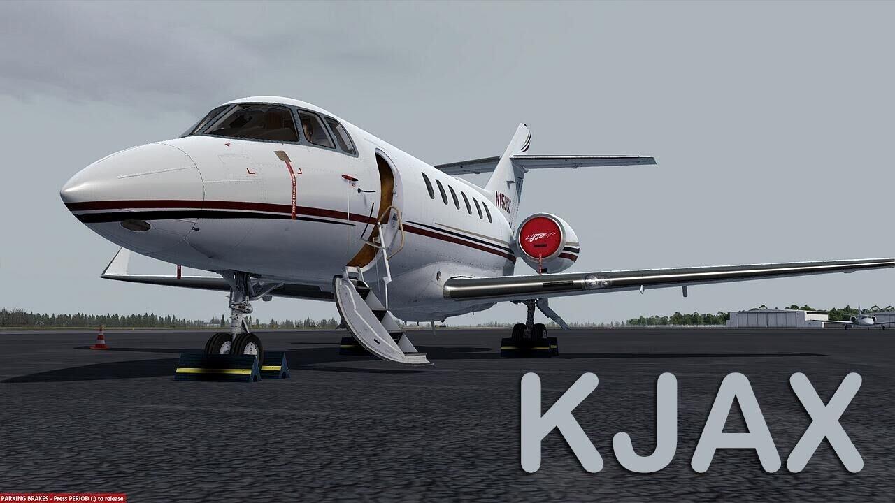 Prepar3D - Carenado Hawker 850XP ILS landing KJAX with new P3D 3 4 18 by  Peter Young