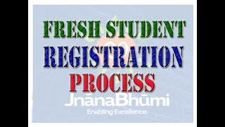 FRESH STUDENT REGISTRATION PROCESS IN JNANABHUMI SCHLORSHIP WEBSITE