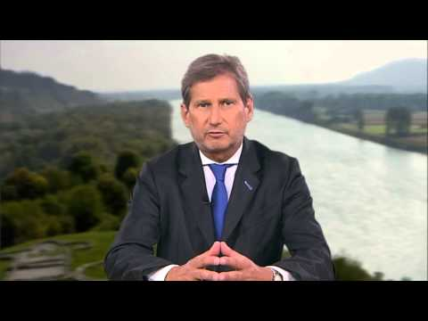 EU Commissioner for Regional Development Johannes Hahn on Danube Day 2013