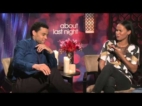 About Last Night Exclusive: Michael Ealy and Joy Bryant Interview
