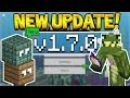 MCPE 1.7 UPDATE  - Minecraft Pocket Edition - NEW Server & Changes! (Pocket, Xbox, PC, Switch)