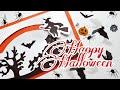 Поделки - DIY: 4 жутко страшных открытки на хэллоуин / Движущаяся открытка / Открытки из бумаги