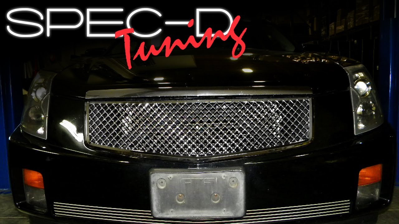 specdtuning installation video 2003 2006 cadillac cts. Black Bedroom Furniture Sets. Home Design Ideas