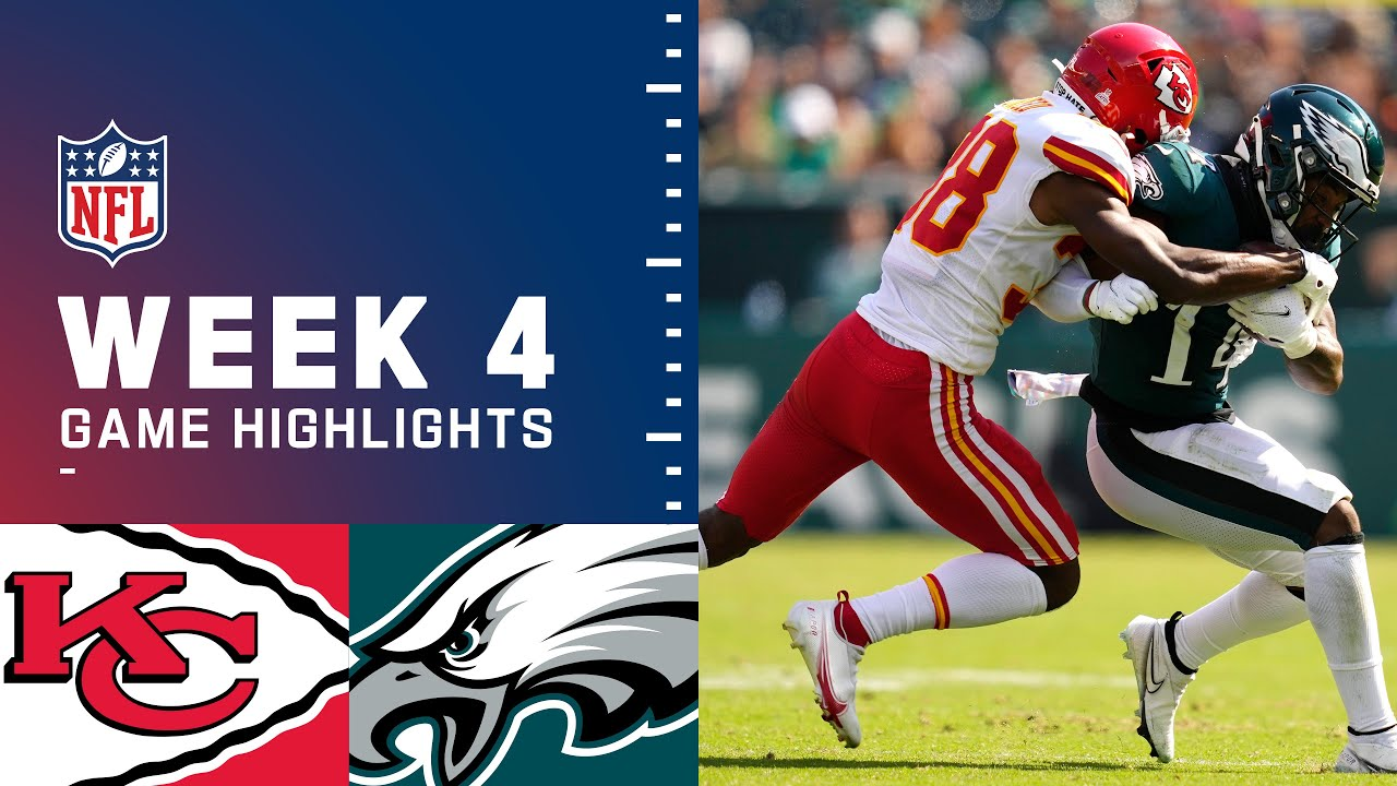 Download Chiefs vs. Eagles Week 4 Highlights   NFL 2021